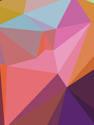 Royalty-Free and Rights-Managed Images - Abstract Polygon Illustration Design 111 by Ahmad Nusyirwan