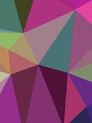 Royalty-Free and Rights-Managed Images - Abstract Polygon Illustration Design 116 by Ahmad Nusyirwan