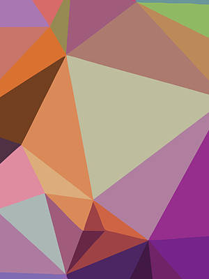 Royalty-Free and Rights-Managed Images - Abstract Polygon Illustration Design 117 by Ahmad Nusyirwan