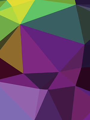 Royalty-Free and Rights-Managed Images - Abstract Polygon Illustration Design 119 by Ahmad Nusyirwan