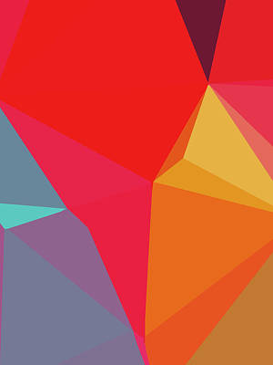 Royalty-Free and Rights-Managed Images - Abstract Polygon Illustration Design 120 by Ahmad Nusyirwan
