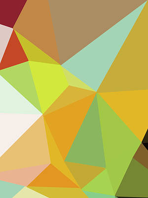 Royalty-Free and Rights-Managed Images - Abstract Polygon Illustration Design 122 by Ahmad Nusyirwan
