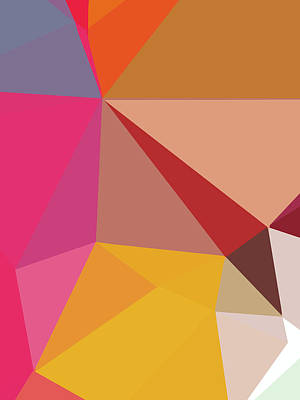 Royalty-Free and Rights-Managed Images - Abstract Polygon Illustration Design 123 by Ahmad Nusyirwan