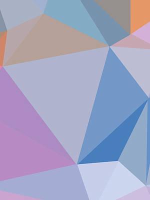 Keith Richards - Abstract Polygon Illustration Design 130 by Ahmad Nusyirwan