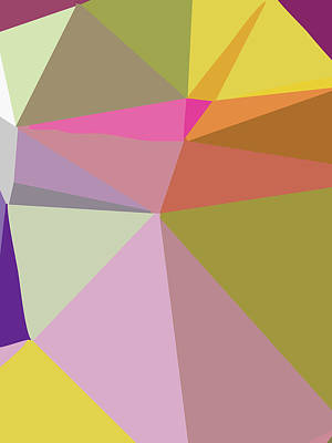 Royalty-Free and Rights-Managed Images - Abstract Polygon Illustration Design 137 by Ahmad Nusyirwan