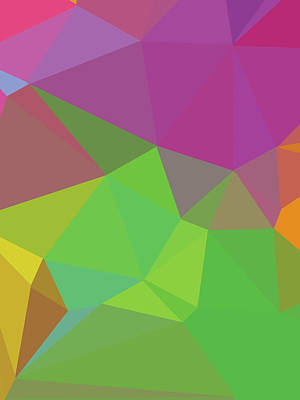 Royalty-Free and Rights-Managed Images - Abstract Polygon Illustration Design 140 by Ahmad Nusyirwan