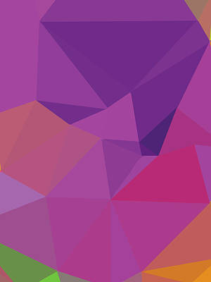 Royalty-Free and Rights-Managed Images - Abstract Polygon Illustration Design 141 by Ahmad Nusyirwan