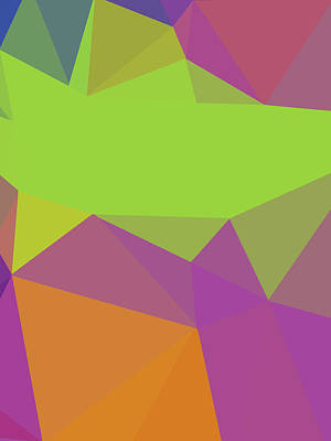 Royalty-Free and Rights-Managed Images - Abstract Polygon Illustration Design 142 by Ahmad Nusyirwan