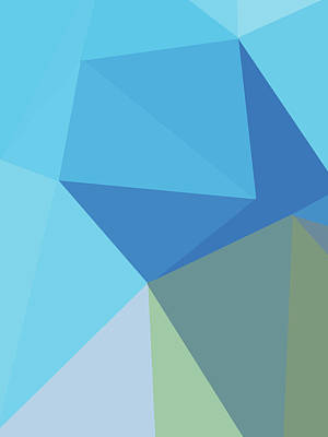 Royalty-Free and Rights-Managed Images - Abstract Polygon Illustration Design 144 by Ahmad Nusyirwan