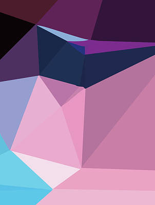 Royalty-Free and Rights-Managed Images - Abstract Polygon Illustration Design 147 by Ahmad Nusyirwan