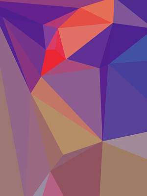 Royalty-Free and Rights-Managed Images - Abstract Polygon Illustration Design 148 by Ahmad Nusyirwan