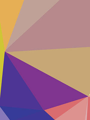 Royalty-Free and Rights-Managed Images - Abstract Polygon Illustration Design 153 by Ahmad Nusyirwan