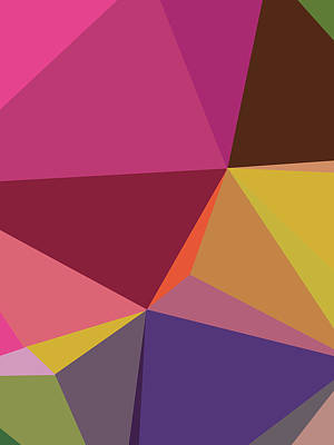 Royalty-Free and Rights-Managed Images - Abstract Polygon Illustration Design 91 by Ahmad Nusyirwan