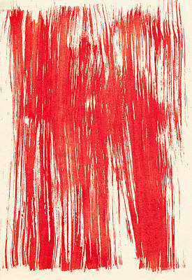 Royalty-Free and Rights-Managed Images - Abstract red background from watercolor by Julien