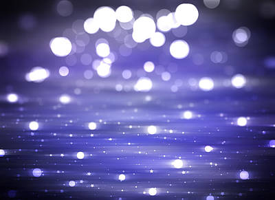 Royalty-Free and Rights-Managed Images - Abstract Shiny Violet Background Illustration Digital.  by Julien
