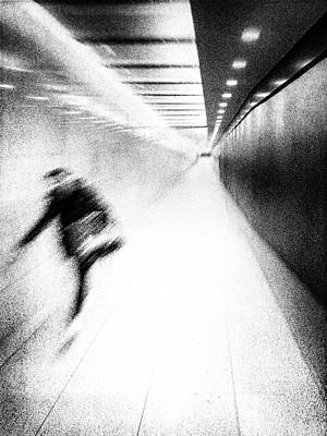 Photograph - Abstract street photography Berlin by Frank Andree