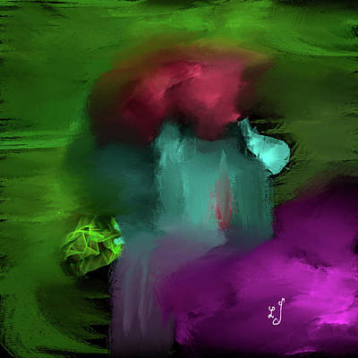 Fantasy Royalty-Free and Rights-Managed Images - Abstract waterfall #j5 by Leif Sohlman