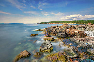 Achieving - Acadias Rocky Coast by Jerry Fornarotto
