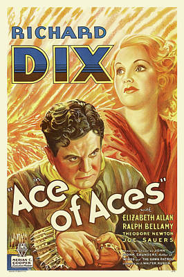 Royalty-Free and Rights-Managed Images - Ace of Aces, with Richard Dix, 1933 by Stars on Art