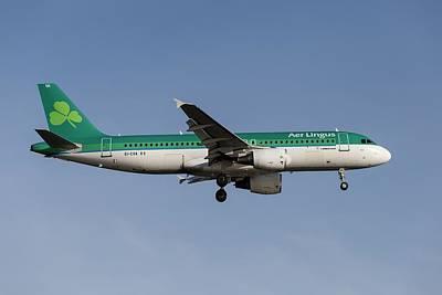 Tina Turner - Aer Lingus Airbus A320-214 by David Pyatt