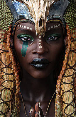 Marvelous Marble - African Queen by Jennifer Donohoe