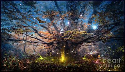 Digital Art - After Earth-II - Digital Artwork  by Leonard Rubins