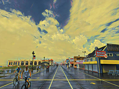 Surrealism Royalty-Free and Rights-Managed Images - After The Storm by Surreal Jersey Shore