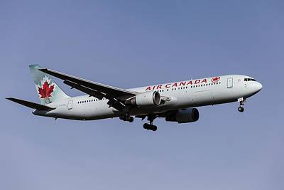 Frank Sinatra Rights Managed Images - Air Canada Boeing 767-375            1 Royalty-Free Image by David Pyatt