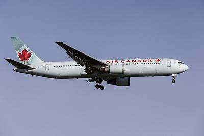 Frank Sinatra Rights Managed Images - Air Canada Boeing 767-375            2 Royalty-Free Image by David Pyatt