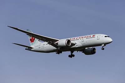 Achieving - Air Canada Boeing 787-8 by David Pyatt