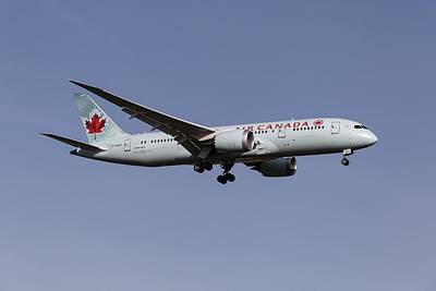 Achieving - Air Canada Boeing 787 Dreamliner by David Pyatt