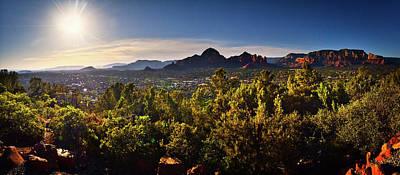 Paul Mccartney - Airport Mesa Panorama, Sedona Arizona by Chance Kafka