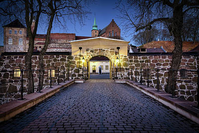 New Years - Akershus Fortress by Bill Chizek