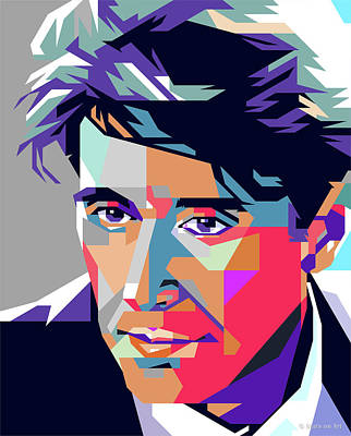 Digital Art Royalty Free Images - Al Pacino Royalty-Free Image by Stars on Art