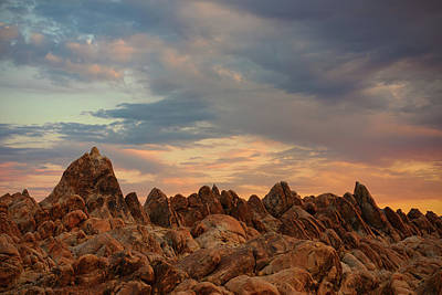 Miles Davis - Alabama Hills Sunrise by Brian Knott Photography