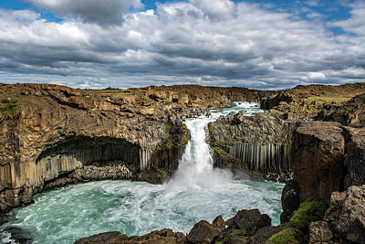Photograph - Aldeyjarfoss by Thomas Schreiter