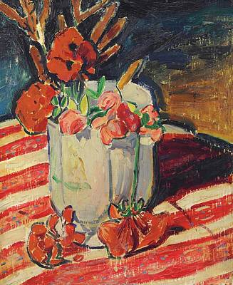 Travel - Alfred Henry Maurer 1868 1932 Still Life with Flowers by Artistic Rifki