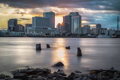 Photograph - Algiers Point Sunset by Chase This Light Photography
