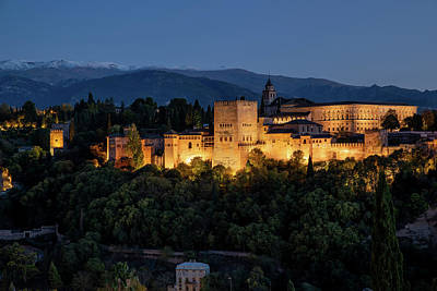 Photograph - Alhambra by Andrei Dima