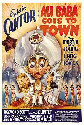 Royalty-Free and Rights-Managed Images - Ali Baba Goes to Town, with Eddie Cantor, 1937 by Stars on Art