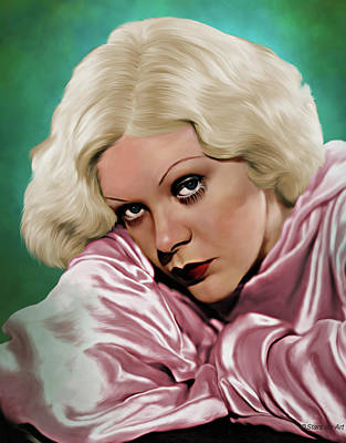 Royalty-Free and Rights-Managed Images - Alice Faye illustration by Stars on Art