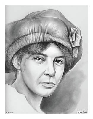 Royalty-Free and Rights-Managed Images - Alice Stokes Paul by Greg Joens