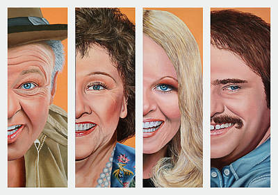 Painting - All in the Family by Vic Ritchey