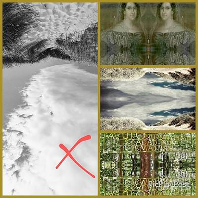 Movies Star Paintings - All is True. Nothing is True.  by Alexandra Vusir