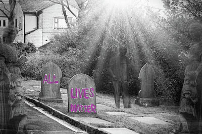 Whimsically Poetic Photographs - All Lives Matter by Watto Photos
