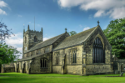 Photograph - All Saints Ilkley by Scott Thomas Images