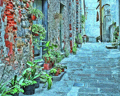 Classic Christmas Movies - Alley Cat in Tuscany by Allen Beatty