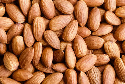 Abstract Oil Paintings Color Pattern And Texture - Almonds by Joe Vella