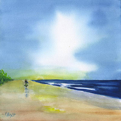 Painting - Alone Time by Frank Bright