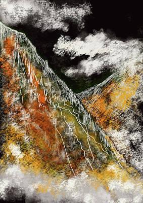 Roaring Red - Alpine Mists by Kah Wah Tan